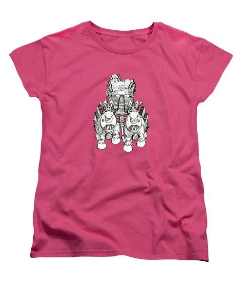 Team Women's T-Shirt (Standard Cut) by Julio Lopez