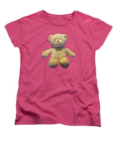 Teddy Bear Women's T-Shirt (Standard Cut) by Pamela Walton