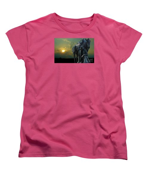 Thanks For The Rain  Women's T-Shirt (Standard Cut) by Janette Boyd
