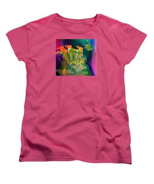 Thanksgiving Bouquet Women's T-Shirt (Standard Cut) by Iris Gelbart