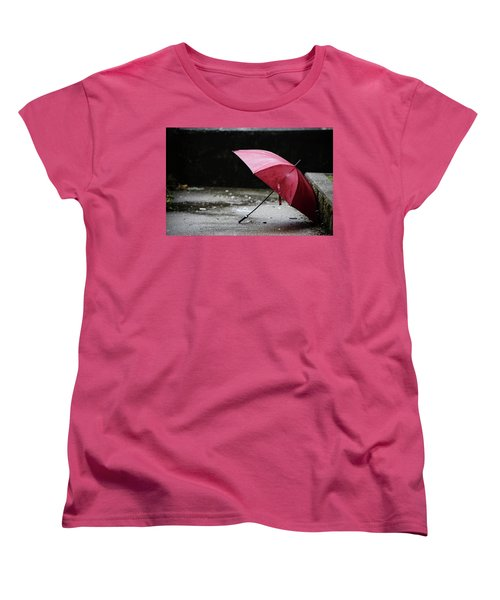 Women's T-Shirt (Standard Cut) featuring the photograph That Love The Dried  by Empty Wall