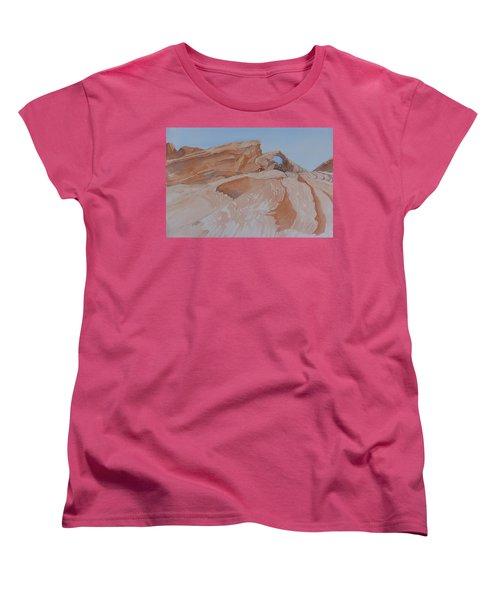 The Arch Rock Experiment - Vi Women's T-Shirt (Standard Cut) by Joel Deutsch