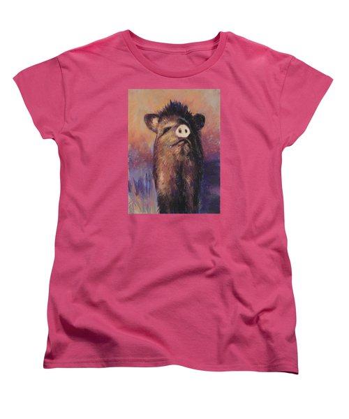 The Aristocrat Women's T-Shirt (Standard Cut) by Billie Colson