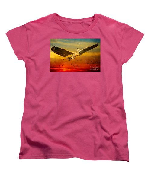 The Arrival And The Reuinion Women's T-Shirt (Standard Cut) by Heather King