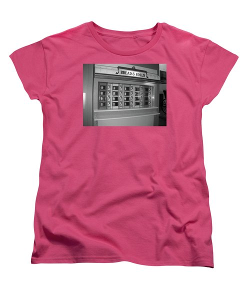 The Automat Women's T-Shirt (Standard Cut) by John Schneider