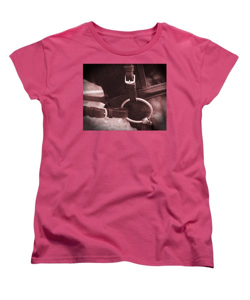 The Bit Women's T-Shirt (Standard Cut) by Roena King