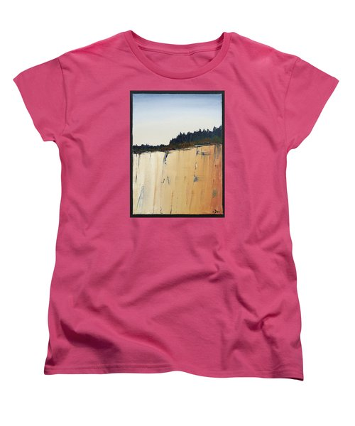 The Bluff Women's T-Shirt (Standard Cut) by Carolyn Doe