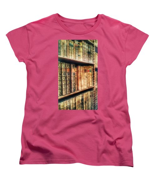 The Bookcase Women's T-Shirt (Standard Cut)