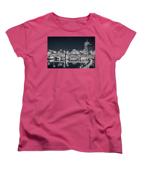 Women's T-Shirt (Standard Cut) featuring the photograph The Bright Dark Of Night by Bill Pevlor