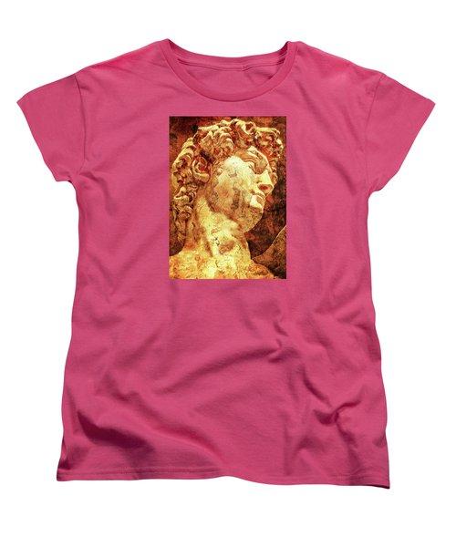 The David By Michelangelo Women's T-Shirt (Standard Cut)