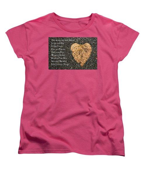 The Decay Of Heart Women's T-Shirt (Standard Cut)