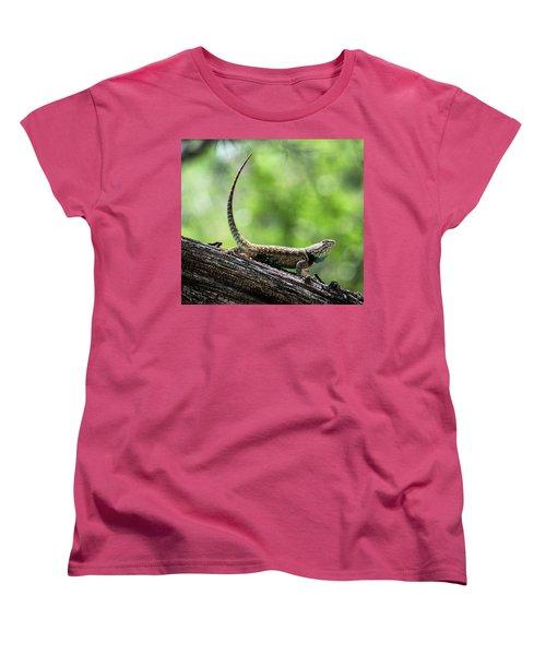 Women's T-Shirt (Standard Cut) featuring the photograph The Desert Spiny Stance  by Saija Lehtonen