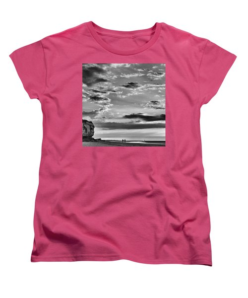 The End Of The Day, Old Hunstanton  Women's T-Shirt (Standard Cut) by John Edwards