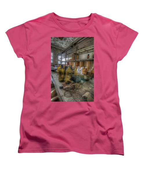 Women's T-Shirt (Standard Cut) featuring the digital art The Experiment  by Nathan Wright
