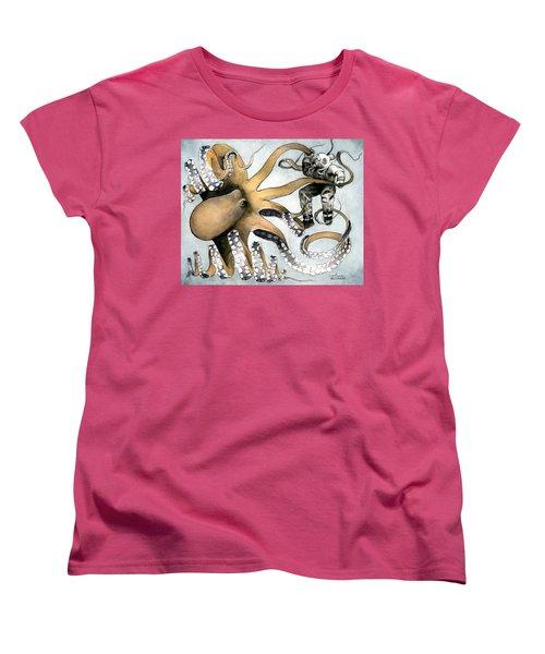 The Explorer Women's T-Shirt (Standard Cut) by Arleana Holtzmann