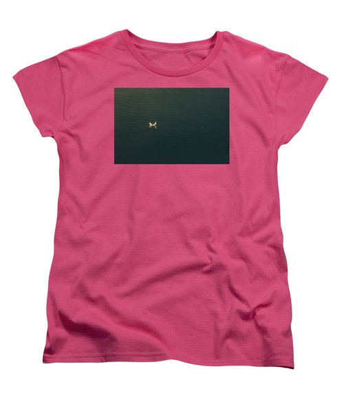 Women's T-Shirt (Standard Cut) featuring the photograph The Feather 2 by Timothy Latta