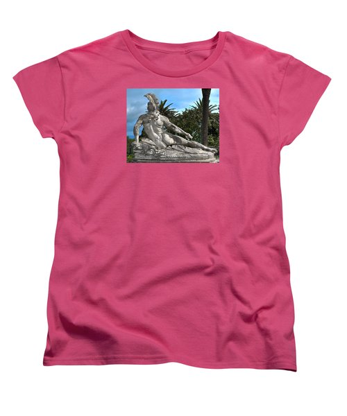Women's T-Shirt (Standard Cut) featuring the photograph The Feather by Richard Ortolano