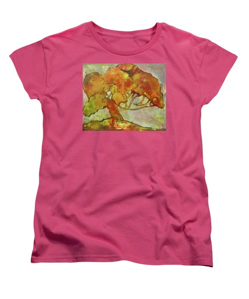 The Giving Tree Women's T-Shirt (Standard Cut) by Terry Honstead
