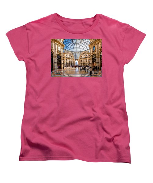 The Golden Hall Women's T-Shirt (Standard Cut) by Giuseppe Torre