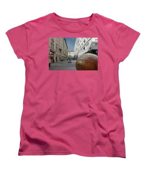 The Grounded Sun Zagreb Women's T-Shirt (Standard Cut)