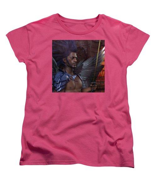 The Guardian 3 Women's T-Shirt (Standard Cut) by Suzanne Silvir