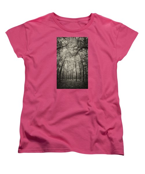 The Hands Of Nature Women's T-Shirt (Standard Cut) by Stavros Argyropoulos