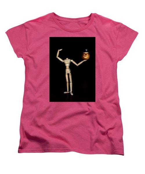 The Headless Woody Women's T-Shirt (Standard Cut) by Mark Fuller