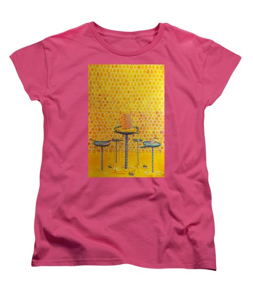 The Honey Of Lives Women's T-Shirt (Standard Cut) by Lazaro Hurtado