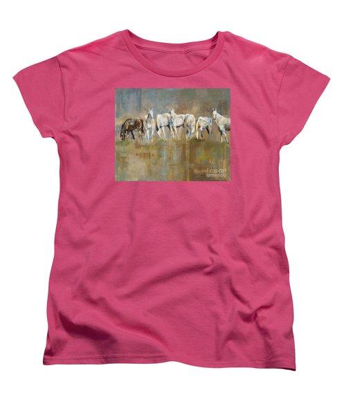 The Horizon Line Women's T-Shirt (Standard Cut) by Frances Marino