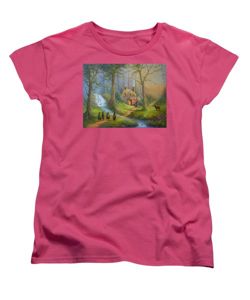 The House Of Tom Bombadil.  Women's T-Shirt (Standard Cut) by Joe  Gilronan