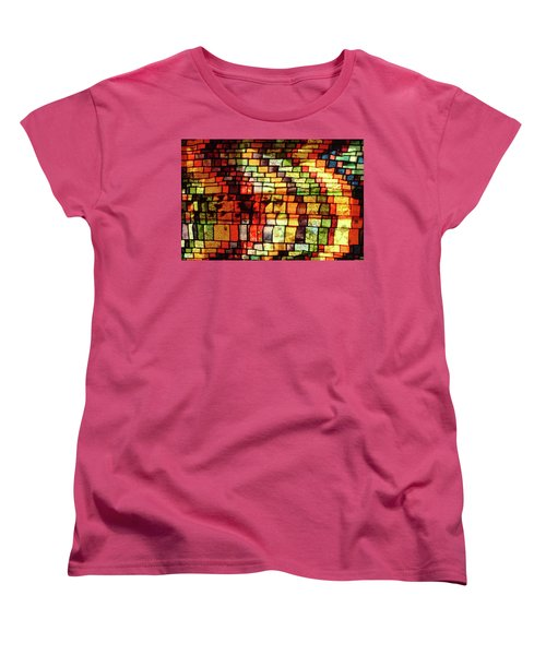 Women's T-Shirt (Standard Cut) featuring the photograph The Human Heart Likes A Little Disorder In Its Geometry by Danica Radman