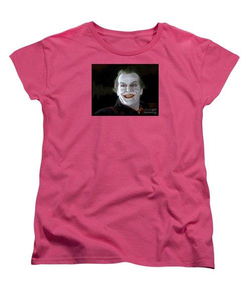 The Joker Women's T-Shirt (Standard Cut) by Paul Tagliamonte