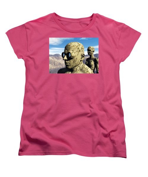 The Last Elementals Awaiting Their Doom Women's T-Shirt (Standard Cut)