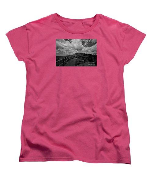 The Light House Women's T-Shirt (Standard Cut) by Gary Bridger
