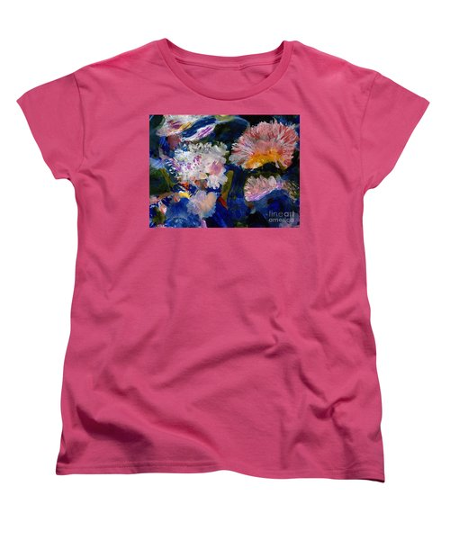 The Magic Of Flowers Women's T-Shirt (Standard Cut) by Nancy Kane Chapman