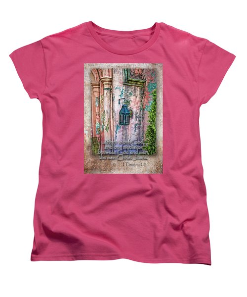 The Mediator Women's T-Shirt (Standard Cut) by Larry Bishop
