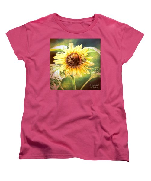 The Merge Women's T-Shirt (Standard Cut) by Tina LeCour