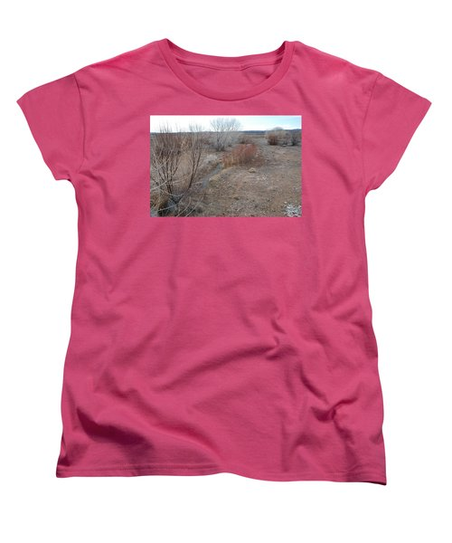 Women's T-Shirt (Standard Cut) featuring the photograph The Mighty Santa Fe River by Rob Hans
