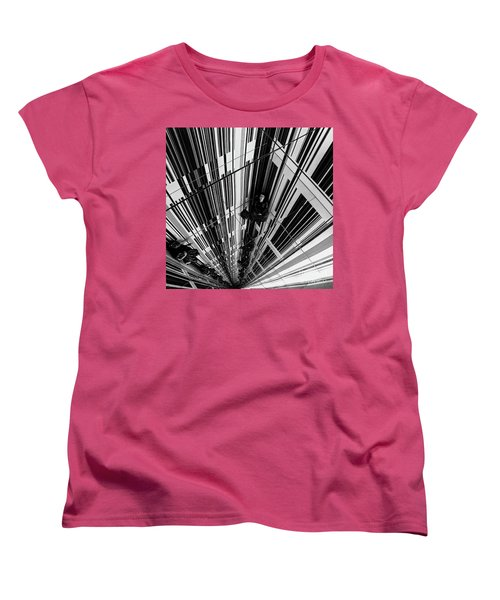 The Mirror Room Women's T-Shirt (Standard Cut) by Karen Lewis
