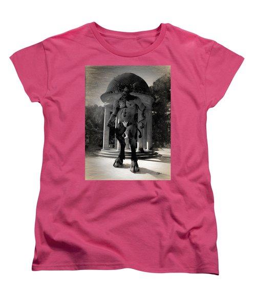 The Monster Maze Women's T-Shirt (Standard Cut) by Joaquin Abella