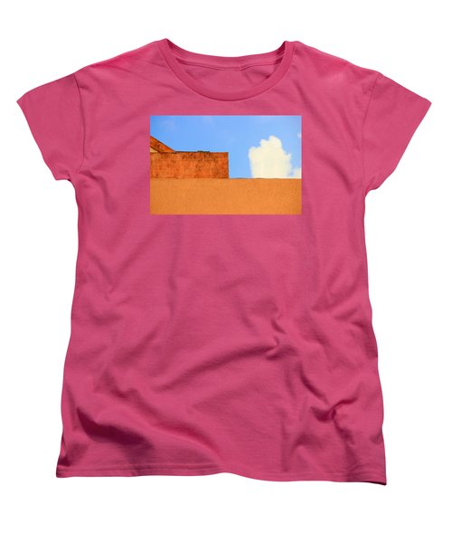 The Muted Cloud Women's T-Shirt (Standard Cut) by Prakash Ghai