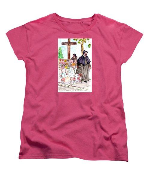 The Nuns Of St Mary's Church Women's T-Shirt (Standard Cut) by Philip Bracco