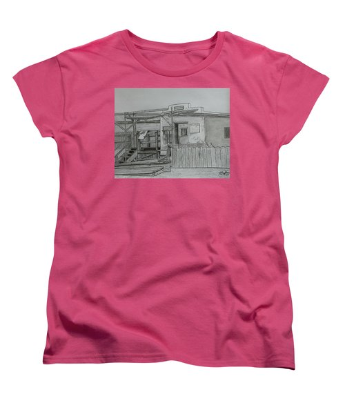 The Old  Jail  Women's T-Shirt (Standard Cut) by Tony Clark
