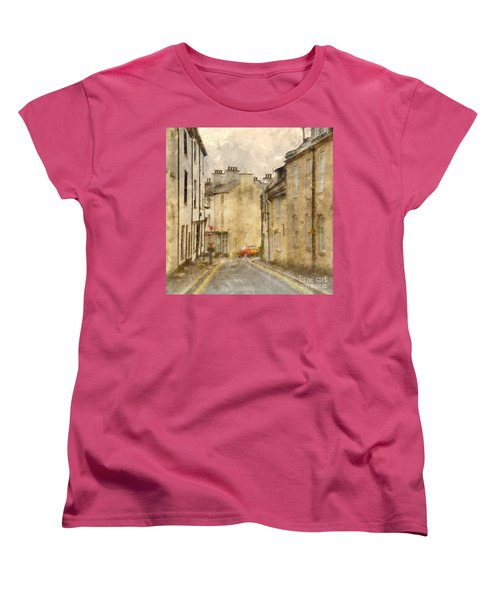 Women's T-Shirt (Standard Cut) featuring the photograph The Old Part Of Town by LemonArt Photography
