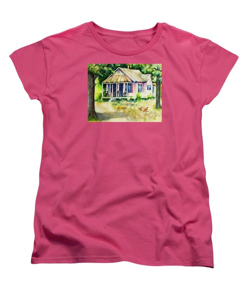The Old Place Women's T-Shirt (Standard Cut) by Rebecca Korpita