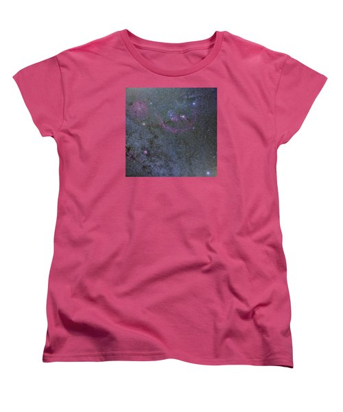 Women's T-Shirt (Standard Cut) featuring the photograph The Orion Complex by Charles Warren