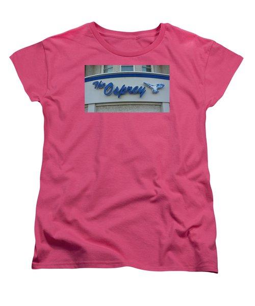 The Osprey Marqee Women's T-Shirt (Standard Cut) by Melinda Saminski