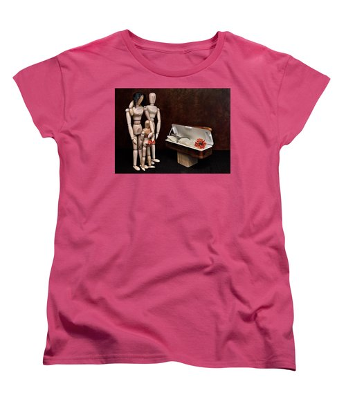 Women's T-Shirt (Standard Cut) featuring the photograph The Passing Of Grandpa Woody by Mark Fuller