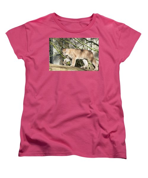 Women's T-Shirt (Standard Cut) featuring the photograph The Red Carpet by Laddie Halupa