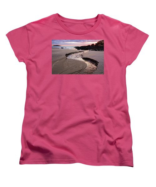 The River Good Harbor Beach Women's T-Shirt (Standard Cut) by Michael Hubley